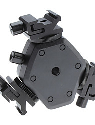 Flash Hot Shoe Holder FLH-11 Swivel Bracket Mount Light Stand for Canon Nikon