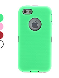 Detachable Full Body Hard Case for iPhone 5/5S (Assorted Colors)