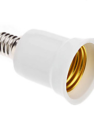 LED-lamp fittingadapter E14 naar E27