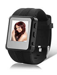 2GB MP4 Multimedia Player con reloj grabadora de voz