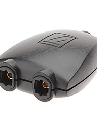 1-to-2 TosLink/Optical Audio Splitter Adapter