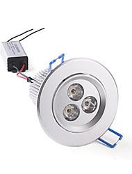 9 W 3 High Power LED 650-720 LM Warm White Recessed Retrofit AC 220-240 V