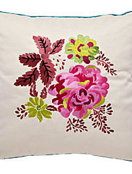 Synthetic Pillow Cover , Embellished&Embroidered Country