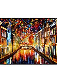 Dipinti a mano olio pittura di paesaggio 1211-LS0224