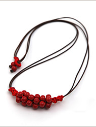 Two Way Multi-color Bead Bib Necklace