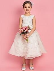 Онлайн принцессы Jewel Чай органзы Цветочница платье с цветами
