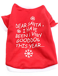 Christmas Style Festival Fleeces Shirt for Dogs (XS-L)