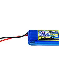 300mAh 7.4V/2S bateria Lipo 35C para o modelo de RC