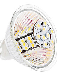 GU5.3(MR16) 3.5 W 54 SMD 3528 260 LM Warm White MR16 Corn Bulbs DC 12 V