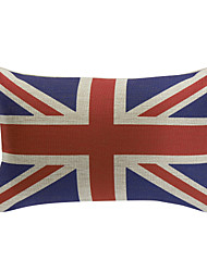 England Cotton Decorative Pillow Cover