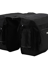 600D / PVC étanche 37L Double Pack transport Side (Noir)