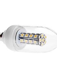 Lampandine a candela 30 SMD 5050 C E14 6 W Decorativo 450 LM 3000K K Bianco caldo AC 85-265 V