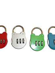 Flog Pattern 3-digit Luggage Combination Lock (Random Color)