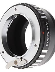 PRO Obiettivo Adattatore Auto Exakta Topcon Obiettivo per Olympus e Panasonic Micro Quattro terzo (MFT) Telecamere EXAKTA-M4 / 3 Pro