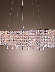 Lampada pendente in cristall, con 16 luci