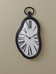 """14""""H Artistic Wall Clock with Roman Number Featured Design"""