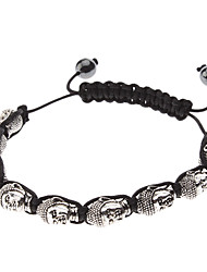 Мужская прохладный Будда бисером bracelace