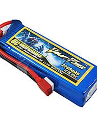 2200mAh 11.1V/3S bateria Lipo 35C para o modelo de RC