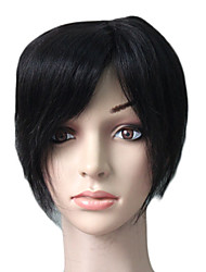 100% Indian Remy Hair 7 pulgadas Piezas Mono Short Top