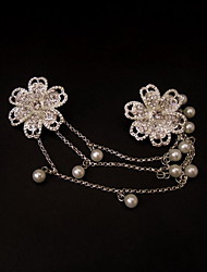 Women's Alloy/Imitation Pearl Headpiece - Wedding/Special Occasion/Casual Flowers
