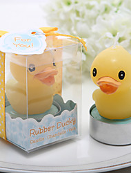 Cute Duckling Design Candle Favor (Set of 4)