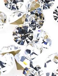 Wedding Décor Shining Round Crystal Diamond Confetti - Set of 1440 Pieces (More Sizes)