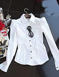 moda donna pad-spalla camicia