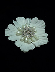 Women's Satin/Crystal/Imitation Pearl Headpiece - Wedding/Special Occasion/Casual Fascinators/Flowers