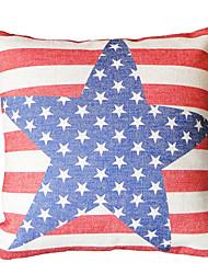 US Star Cotton/Linen Decorative Pillow Cover