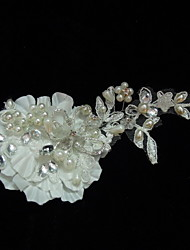 Women's Satin/Lace/Rhinestone/Imitation Pearl Headpiece - Wedding/Special Occasion/Casual Fascinators/Flowers