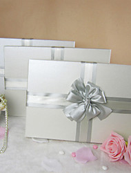 Simple Gift Box Design Avec Satin Double bowknot (Tailles Plus)