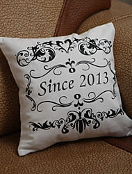Gifts Bridesmaid Gift Personalized Floral Print Pillow Cases (Not Including The Fiberfill)