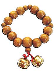bracelet de perles en bois inspiré par hell girl Ai Enma