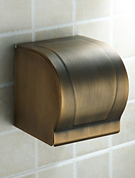 Toilet Paper Holder,Antique Antique Brass Wall Mounted
