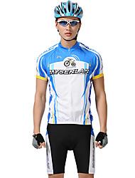 MYSENLAN PN Mesh + Flex Материал с коротким рукавом переносной Велоспорт Мужские костюмы
