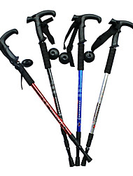 3 Folding T Type Hiking Poles (Random Color)