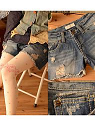 Mori Garota da Tribo 2013 Denim Shorts da Primavera