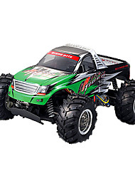 Truck YX YX-3427 1:10 Brush Electric RC Car 2.4G Green Ready-To-GoRemote Control Car / Remote Controller/Transmitter / Battery Charger /