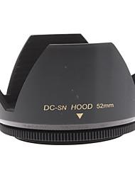 Mennon Lens Hood 52 milímetros por 16 milímetros Lentes para Câmera Digital + Film, Lentes de 28 milímetros +