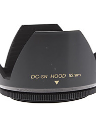 Mennon Parasol 52mm para lentes de cámaras digitales de 16mm + 28mm + película Objetivos
