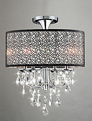 Crystal/Mini Style Chandeliers , Modern/Contemporary/Drum Living Room/Dining Room/Bedroom/Study Room/Office