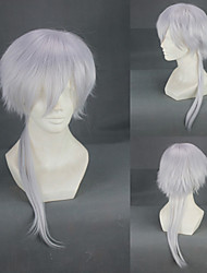 Cosplay Perücken Cosplay Masaharu Nioh Silber Medium Anime Cosplay Perücken 55 CM Hitzebeständige Faser Mann