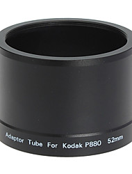 52mm Lens and Filter Adapter Tube for Kodak P880 Digital Camera Black