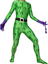 Zentai Suits Ninja Zentai Cosplay Costumes Purple / Black / Green Print Gloves / Belt / Mask / Zentai Spandex Lycra UnisexHalloween /