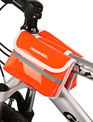 ROSWHEEL New-style Mini Candy Colors PU Leather Bicycle Frame Bag Top Tube Bag  12659