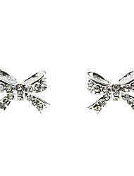 Doux bowknot Diamond Earrings