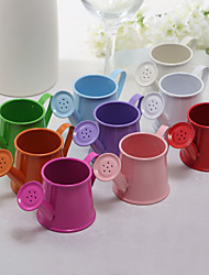 Lovely Metal Watering Can Favor Holder - Set of 6 (More Colors)