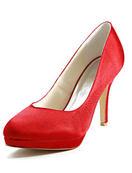 Satin Stiletto Heel Pumps Wedding Shoes (More Colors)