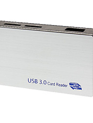 High-Speed-USB 3.0-Steckplätze reader6 (kann ms, cf, m2, sd, sm / xd, t-Flash lesen)