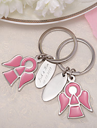 Personalized Angel Design Keyring (Set of 4 Pieces)